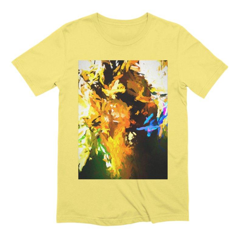 Shouting Man Men's Extra Soft T-Shirt by jackievano's Artist Shop