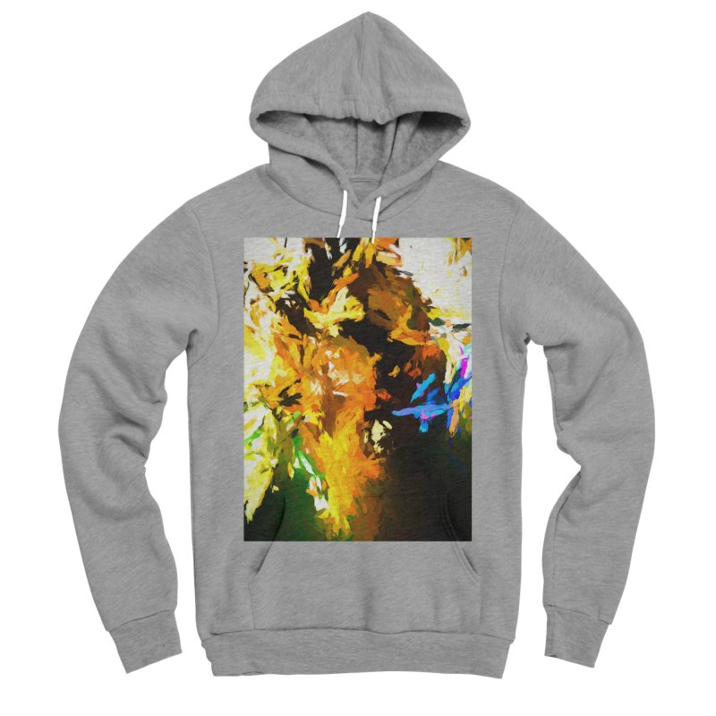 Shouting Man Women's Sponge Fleece Pullover Hoody by jackievano's Artist Shop