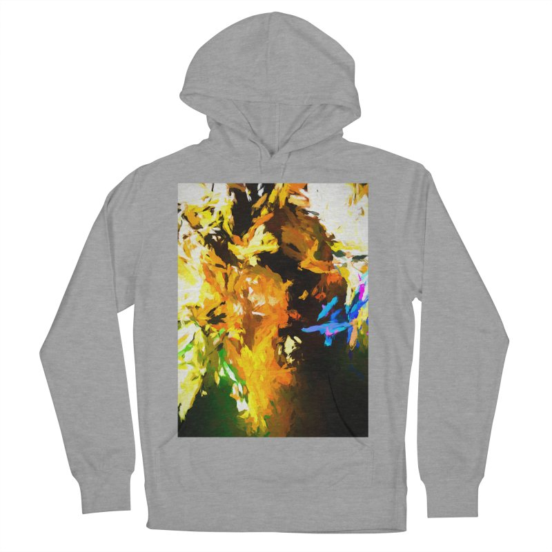 Shouting Man Women's French Terry Pullover Hoody by jackievano's Artist Shop