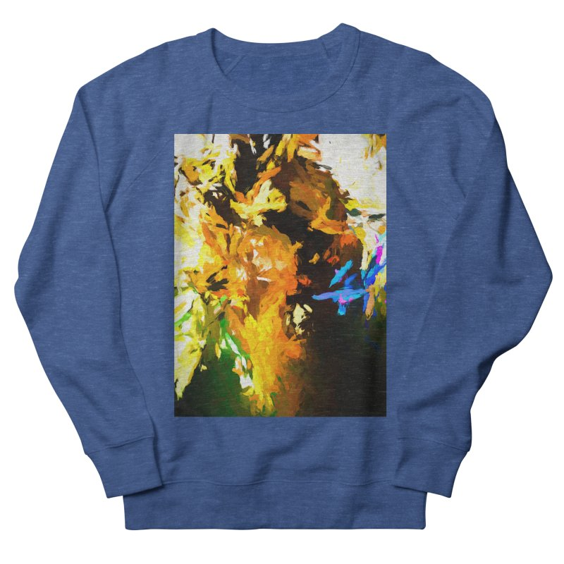 Shouting Man Women's French Terry Sweatshirt by jackievano's Artist Shop