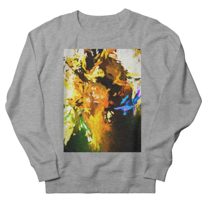 Shouting Man Men's French Terry Sweatshirt by jackievano's Artist Shop
