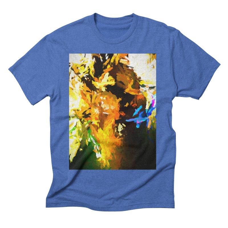 Shouting Man Men's Triblend T-Shirt by jackievano's Artist Shop