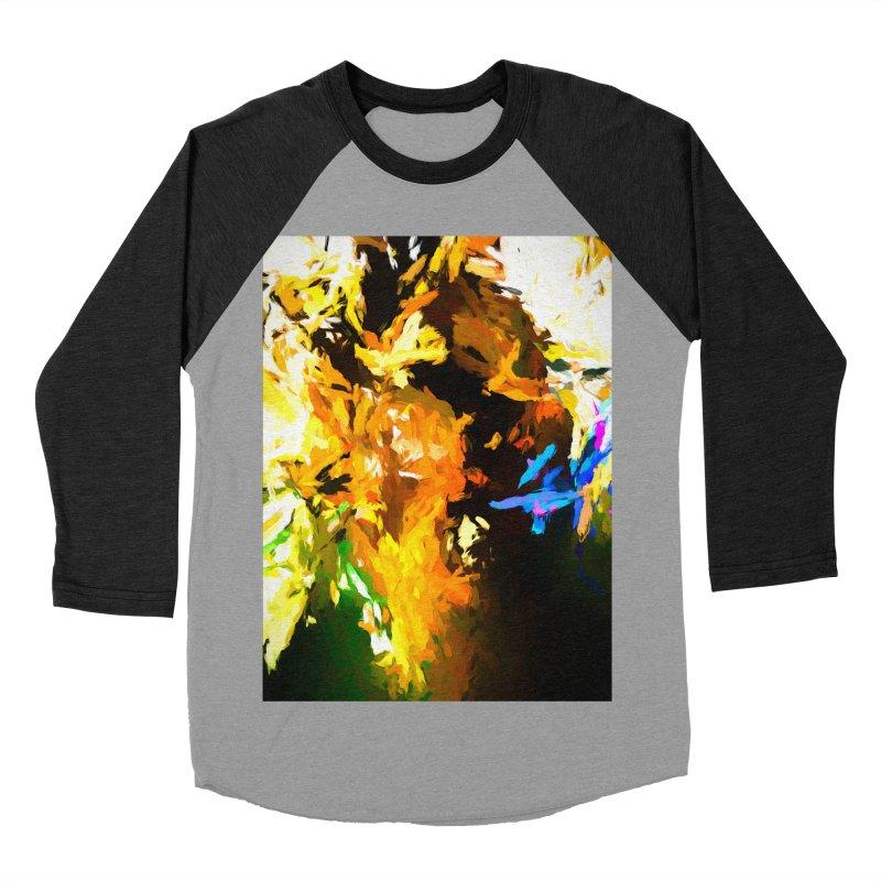 Shouting Man Men's Baseball Triblend Longsleeve T-Shirt by jackievano's Artist Shop