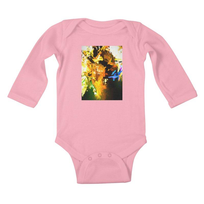 Shouting Man Kids Baby Longsleeve Bodysuit by jackievano's Artist Shop