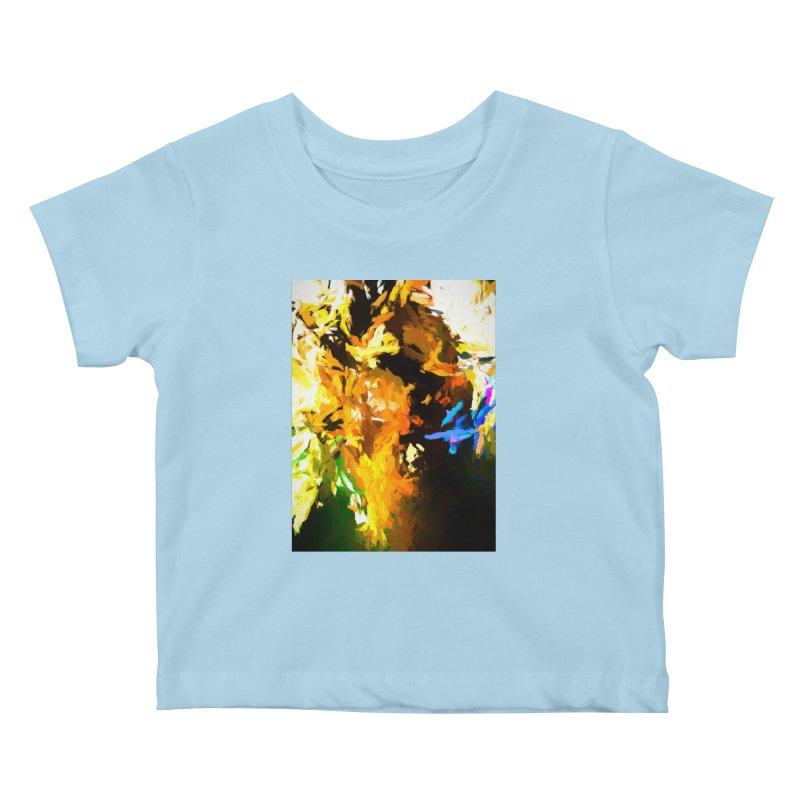 Shouting Man Kids Baby T-Shirt by jackievano's Artist Shop