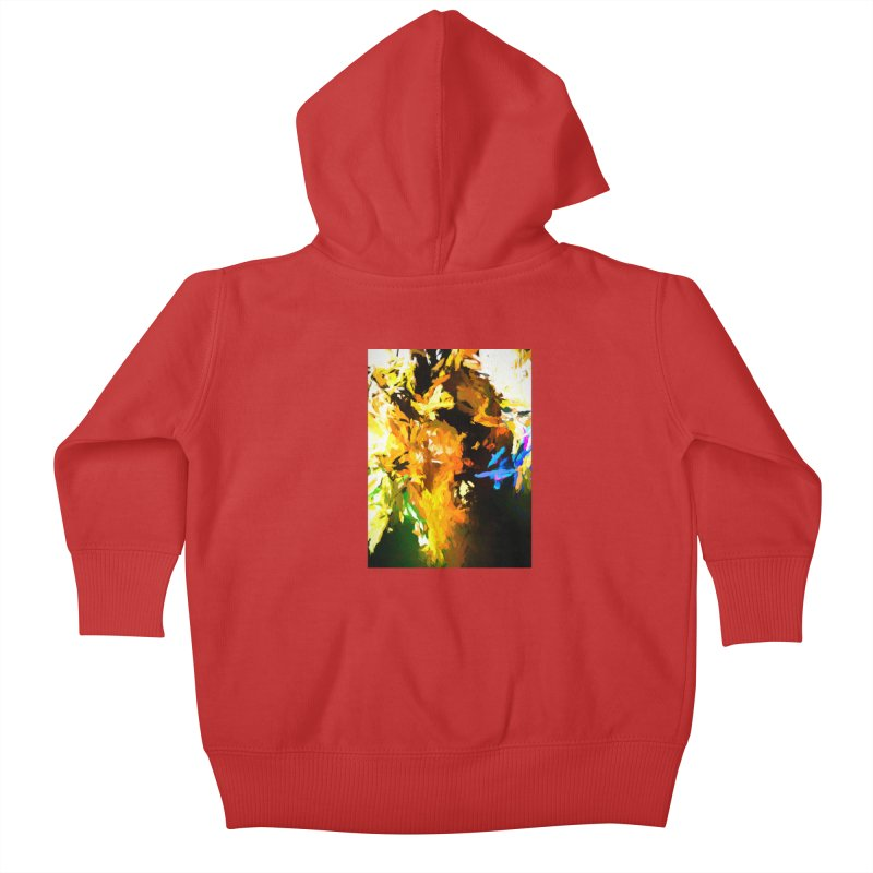 Shouting Man Kids Baby Zip-Up Hoody by jackievano's Artist Shop