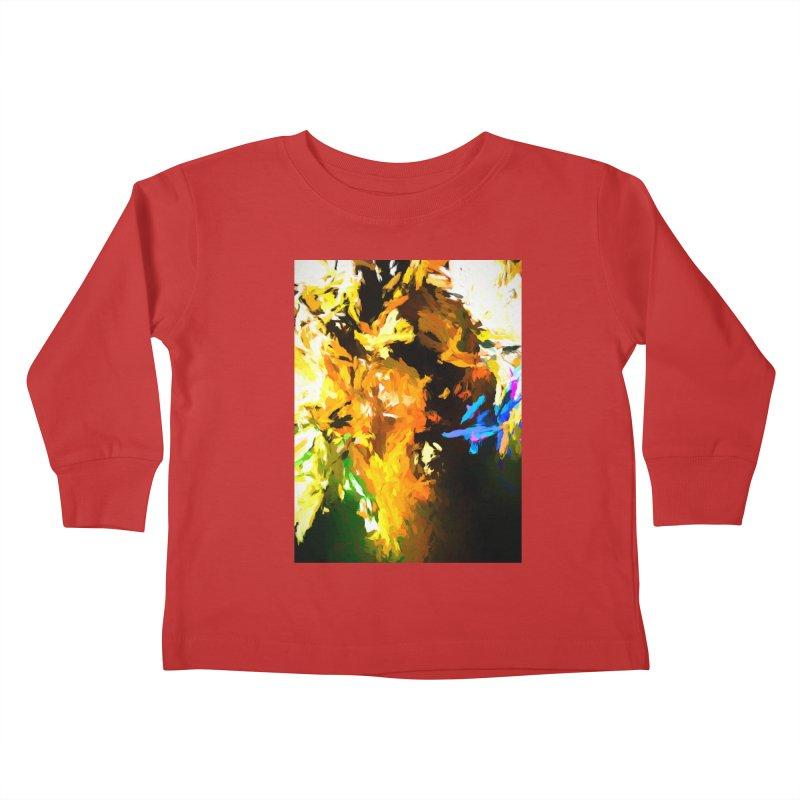 Shouting Man Kids Toddler Longsleeve T-Shirt by jackievano's Artist Shop