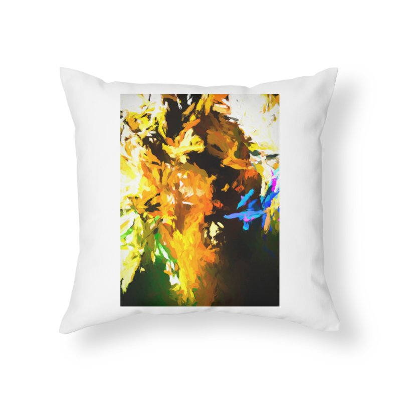 Shouting Man Home Throw Pillow by jackievano's Artist Shop