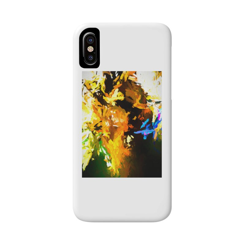 Shouting Man Accessories Phone Case by jackievano's Artist Shop