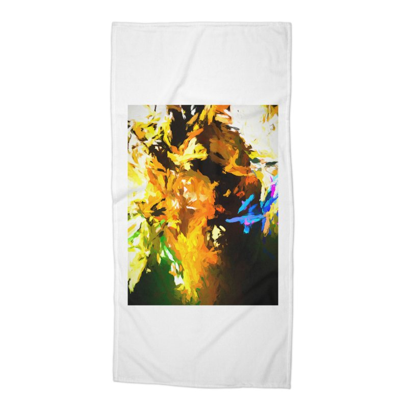 Shouting Man Accessories Beach Towel by jackievano's Artist Shop