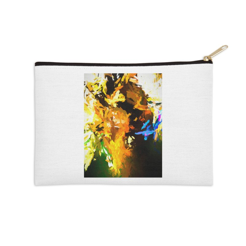 Shouting Man Accessories Zip Pouch by jackievano's Artist Shop