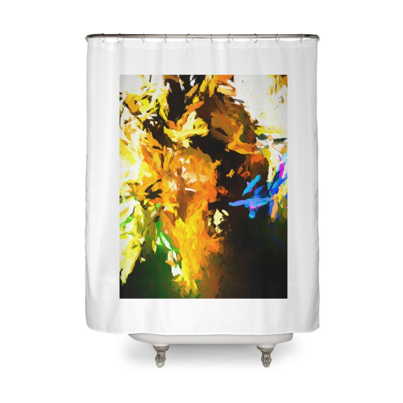 Shouting Man Home Shower Curtain by jackievano's Artist Shop