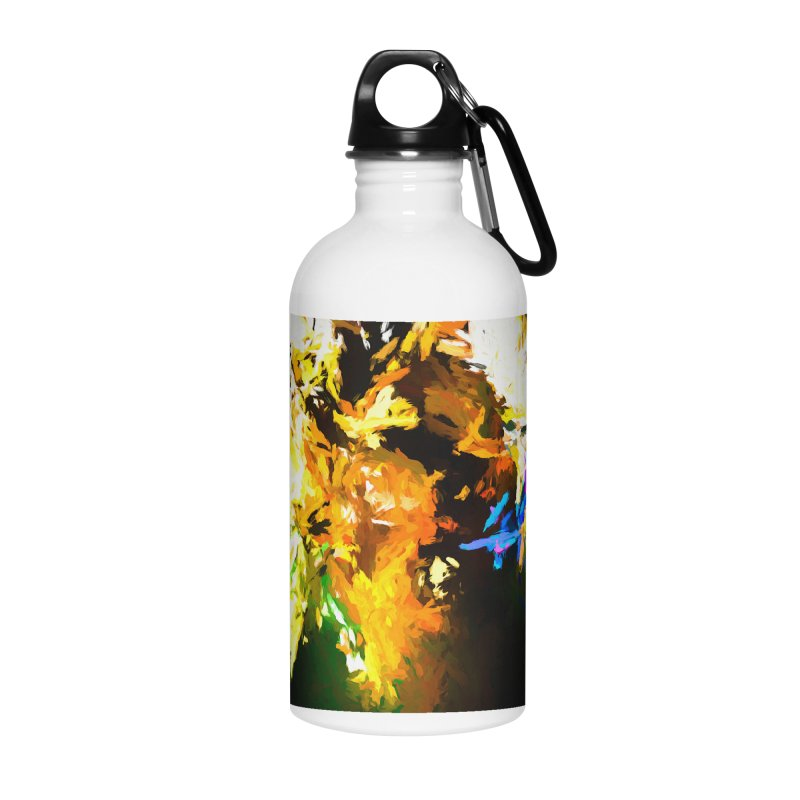 Shouting Man Accessories Water Bottle by jackievano's Artist Shop
