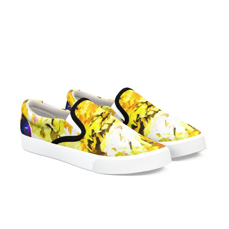Hidden Evil Smile Women's Slip-On Shoes by jackievano's Artist Shop