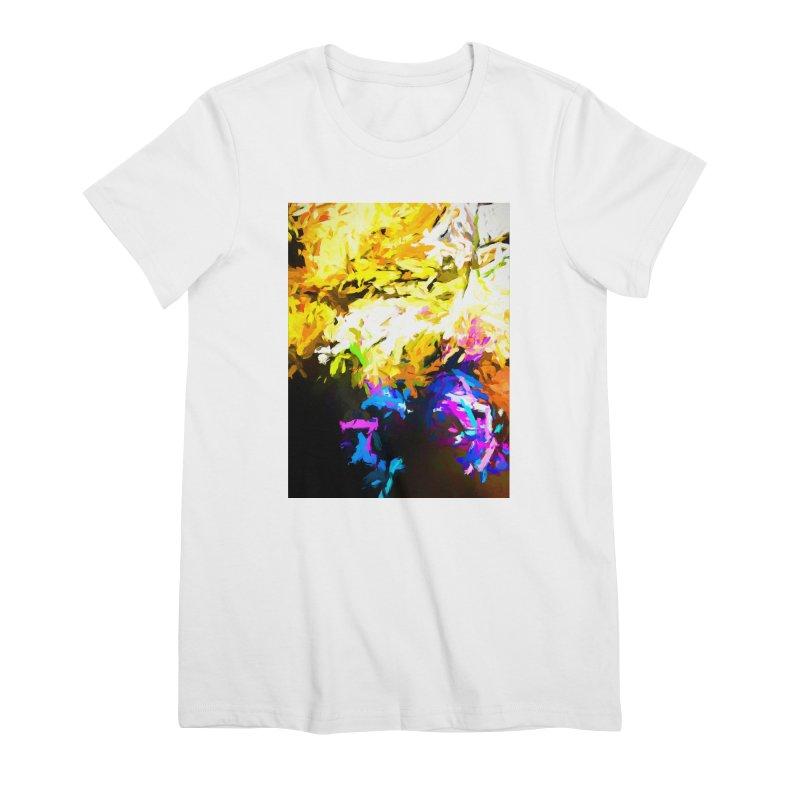 Hidden Evil Smile Women's Premium T-Shirt by jackievano's Artist Shop