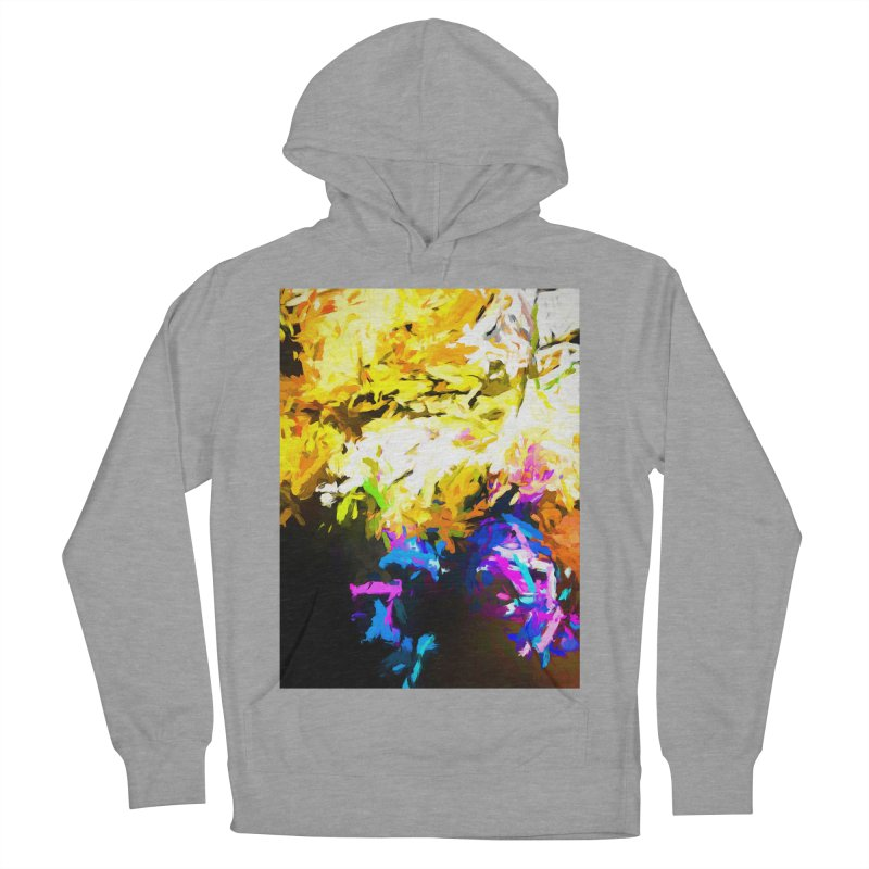 Hidden Evil Smile Men's French Terry Pullover Hoody by jackievano's Artist Shop