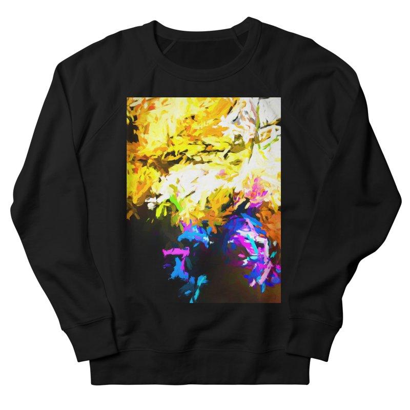 Hidden Evil Smile Men's French Terry Sweatshirt by jackievano's Artist Shop
