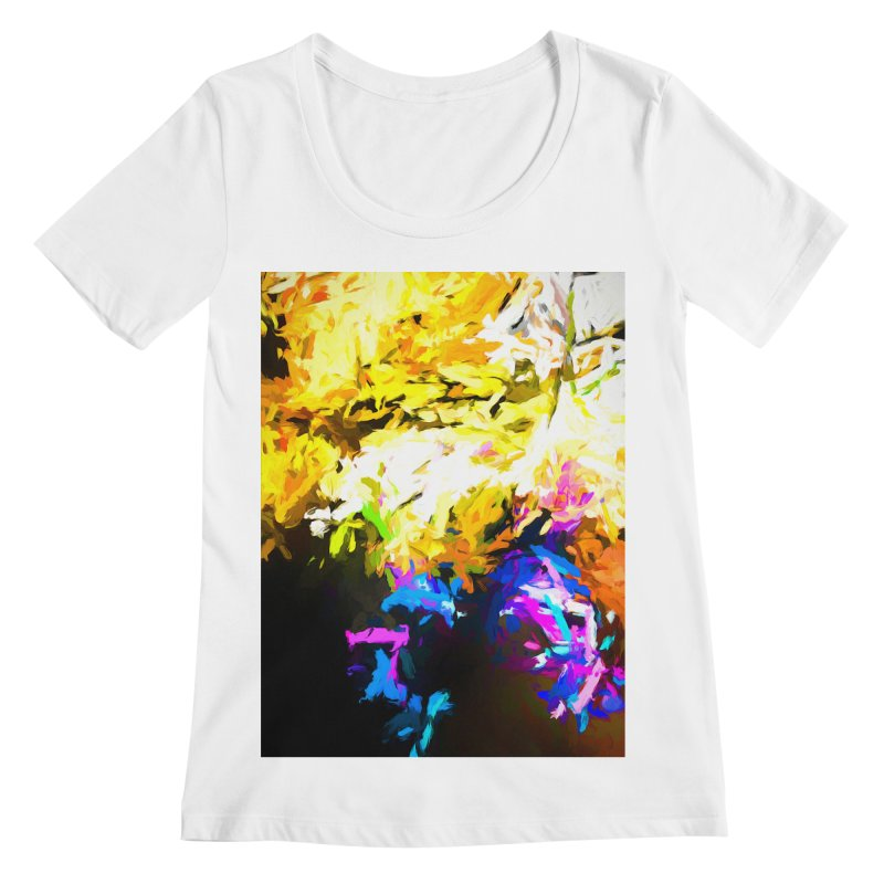 Hidden Evil Smile Women's Regular Scoop Neck by jackievano's Artist Shop