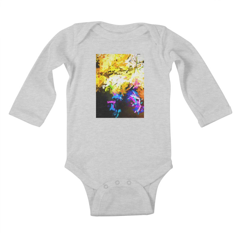 Hidden Evil Smile Kids Baby Longsleeve Bodysuit by jackievano's Artist Shop