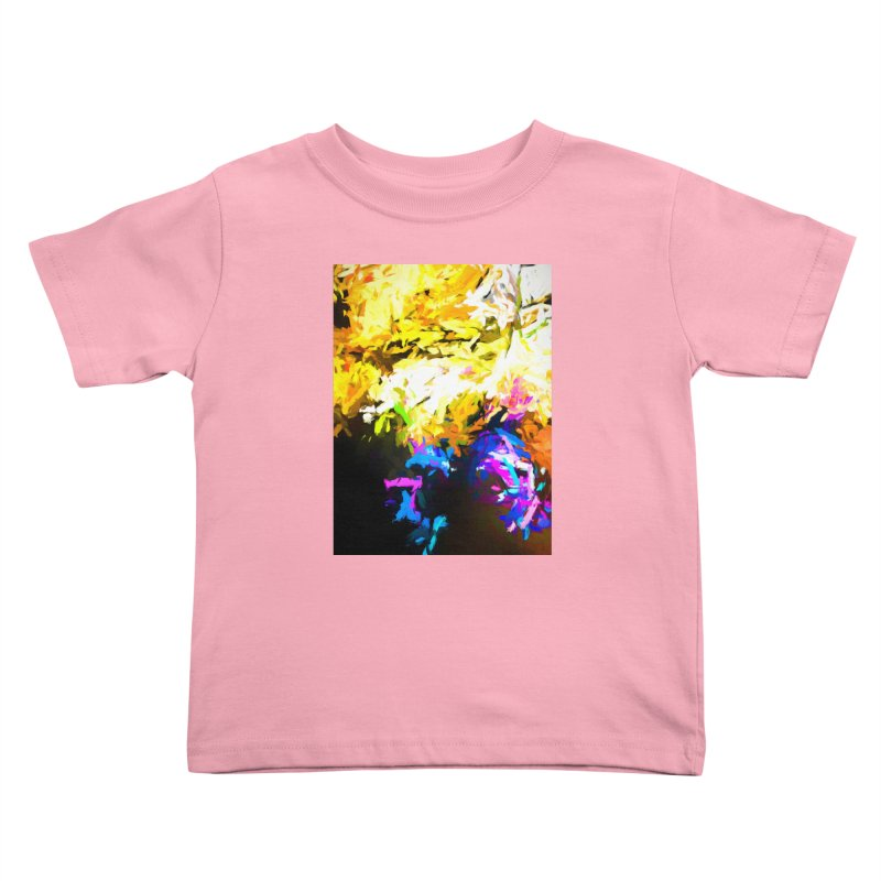 Hidden Evil Smile Kids Toddler T-Shirt by jackievano's Artist Shop