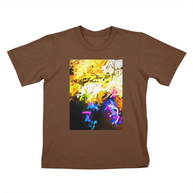 Hidden Evil Smile Kids T-Shirt by jackievano's Artist Shop