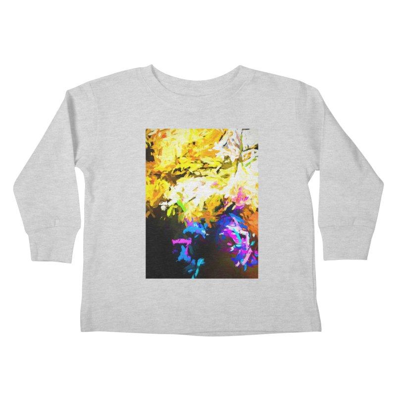Hidden Evil Smile Kids Toddler Longsleeve T-Shirt by jackievano's Artist Shop