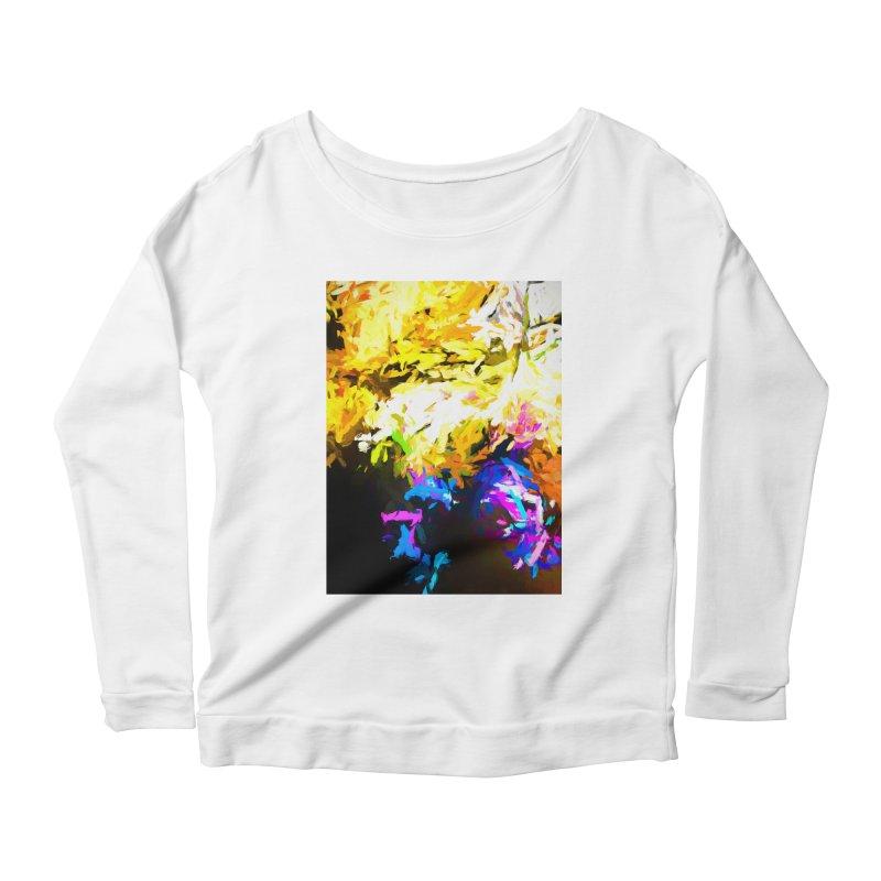 Hidden Evil Smile Women's Scoop Neck Longsleeve T-Shirt by jackievano's Artist Shop