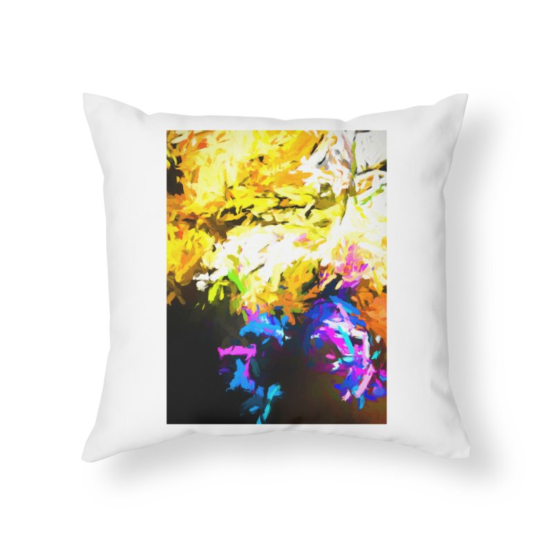 Hidden Evil Smile Home Throw Pillow by jackievano's Artist Shop