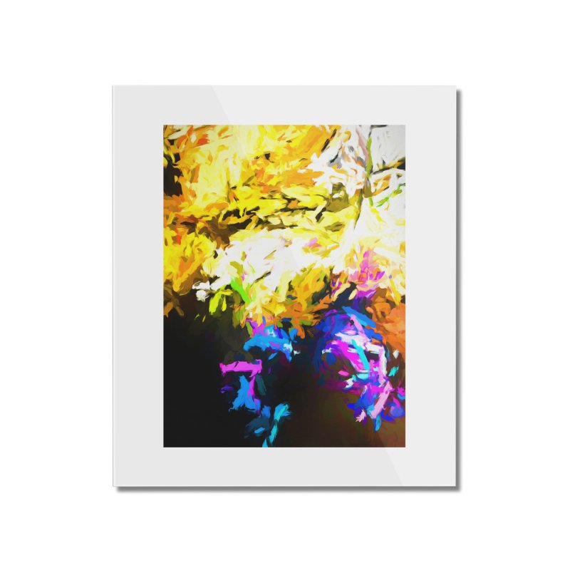 Hidden Evil Smile Home Mounted Acrylic Print by jackievano's Artist Shop