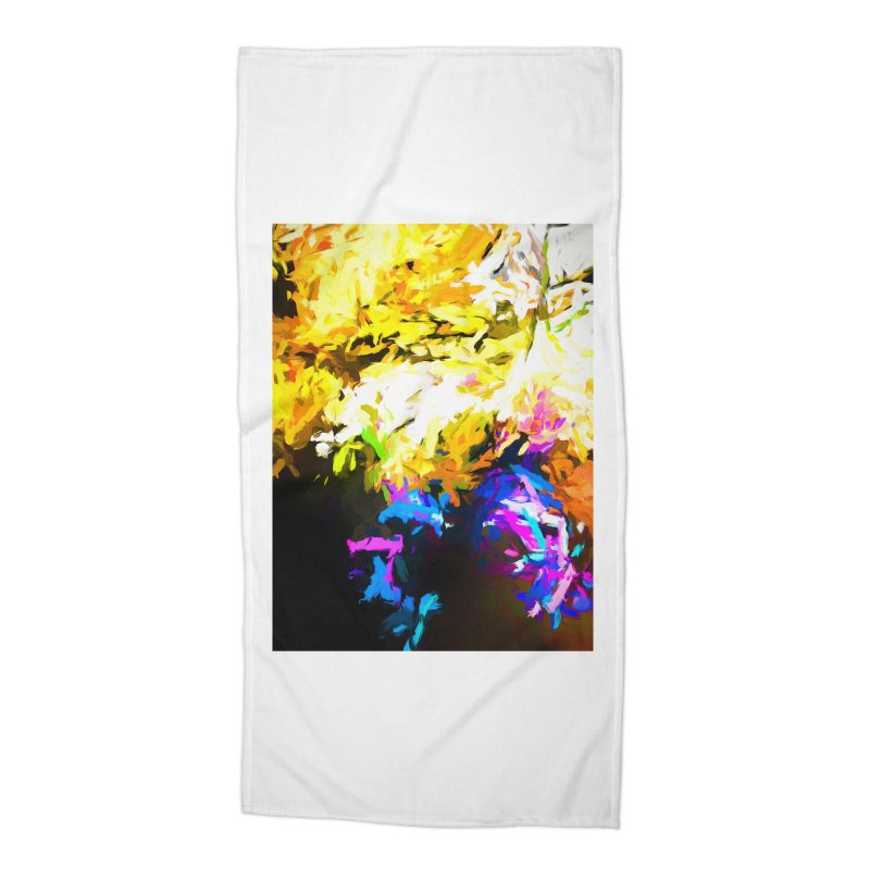 Hidden Evil Smile Accessories Beach Towel by jackievano's Artist Shop