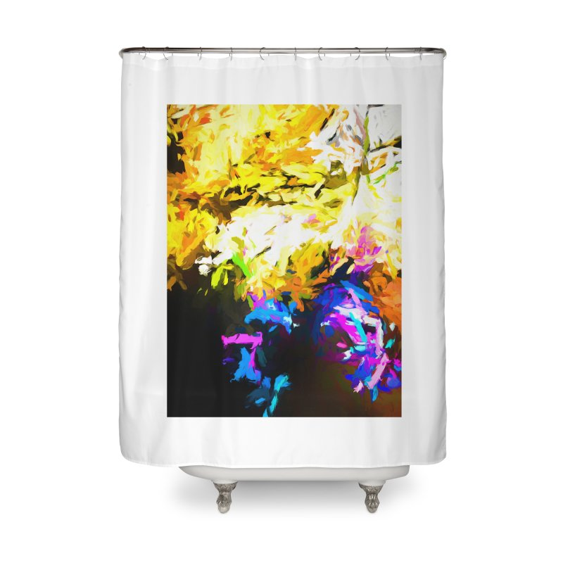 Hidden Evil Smile Home Shower Curtain by jackievano's Artist Shop