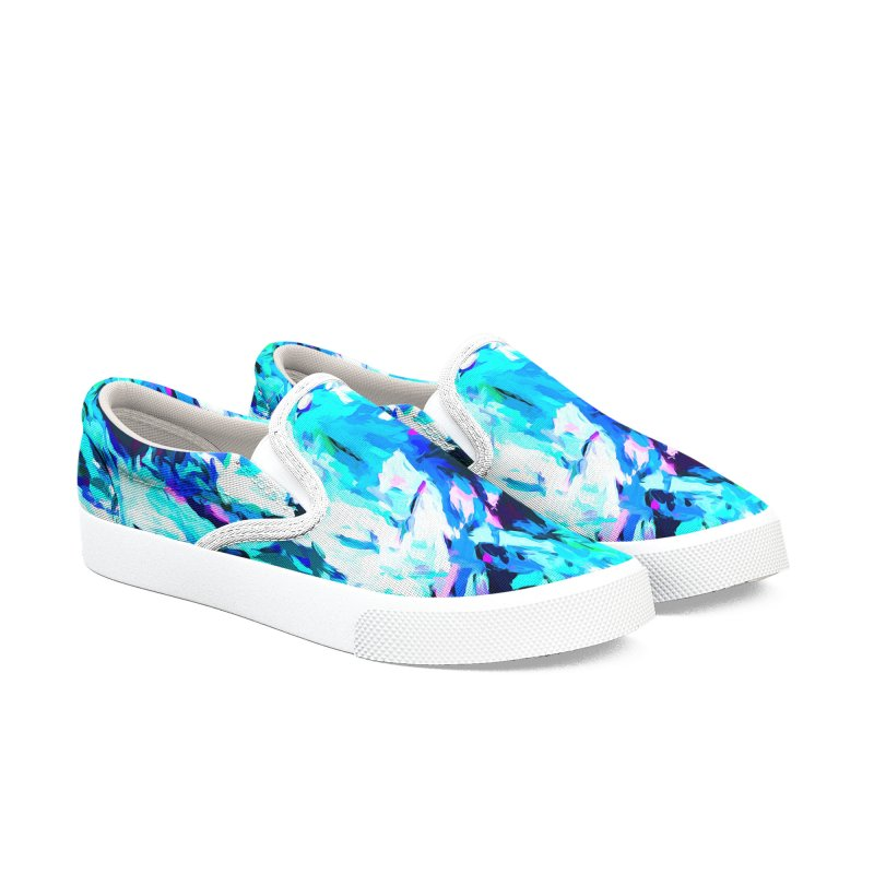 Gargoyle of the Evil Intent Women's Slip-On Shoes by jackievano's Artist Shop