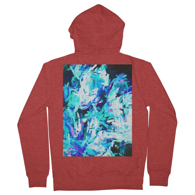 Gargoyle of the Evil Intent Women's French Terry Zip-Up Hoody by jackievano's Artist Shop