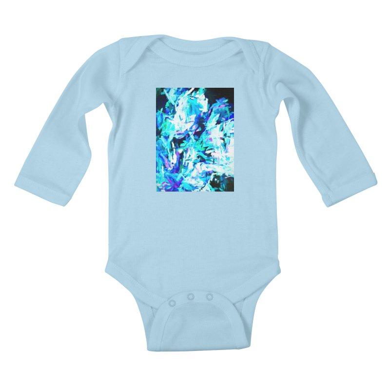 Gargoyle of the Evil Intent Kids Baby Longsleeve Bodysuit by jackievano's Artist Shop