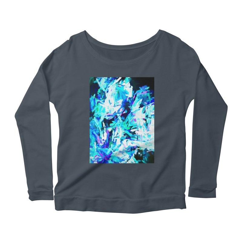 Gargoyle of the Evil Intent Women's Scoop Neck Longsleeve T-Shirt by jackievano's Artist Shop
