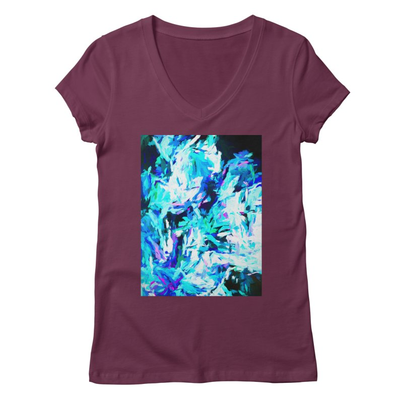 Gargoyle of the Evil Intent Women's Regular V-Neck by jackievano's Artist Shop