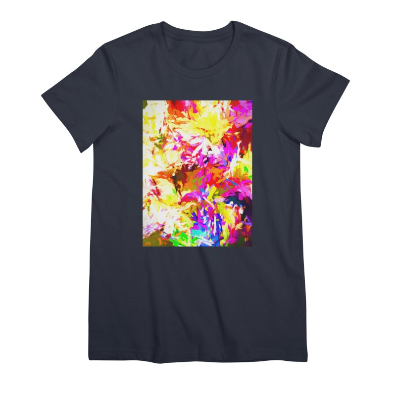 Hot Gargoyle Melting Beneath the Scorching Sun Women's Premium T-Shirt by jackievano's Artist Shop