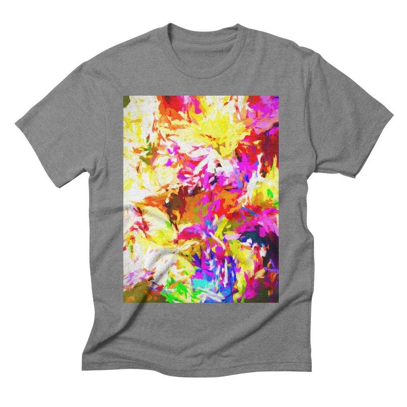 Hot Gargoyle Melting Beneath the Scorching Sun Men's Triblend T-Shirt by jackievano's Artist Shop
