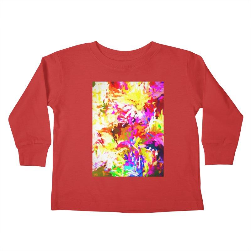 Hot Gargoyle Melting Beneath the Scorching Sun Kids Toddler Longsleeve T-Shirt by jackievano's Artist Shop