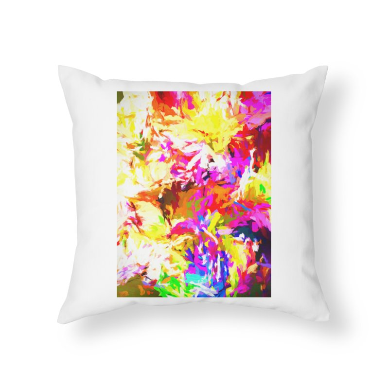 Hot Gargoyle Melting Beneath the Scorching Sun Home Throw Pillow by jackievano's Artist Shop