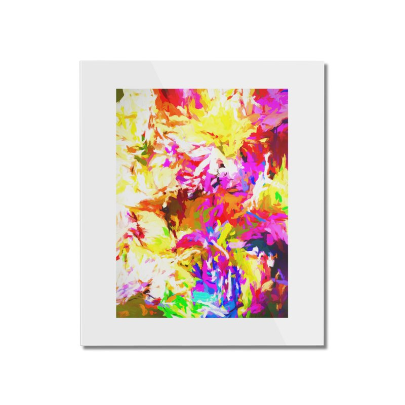 Hot Gargoyle Melting Beneath the Scorching Sun Home Mounted Acrylic Print by jackievano's Artist Shop