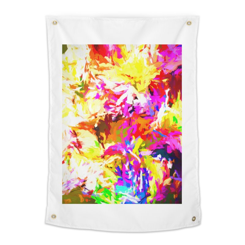 Hot Gargoyle Melting Beneath the Scorching Sun Home Tapestry by jackievano's Artist Shop