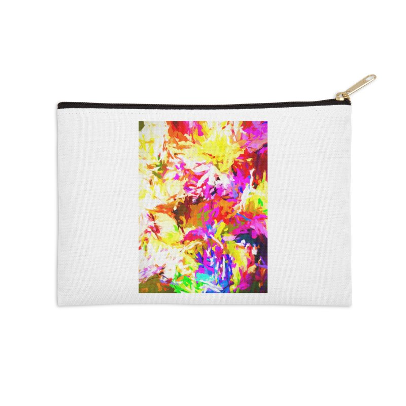 Hot Gargoyle Melting Beneath the Scorching Sun Accessories Zip Pouch by jackievano's Artist Shop