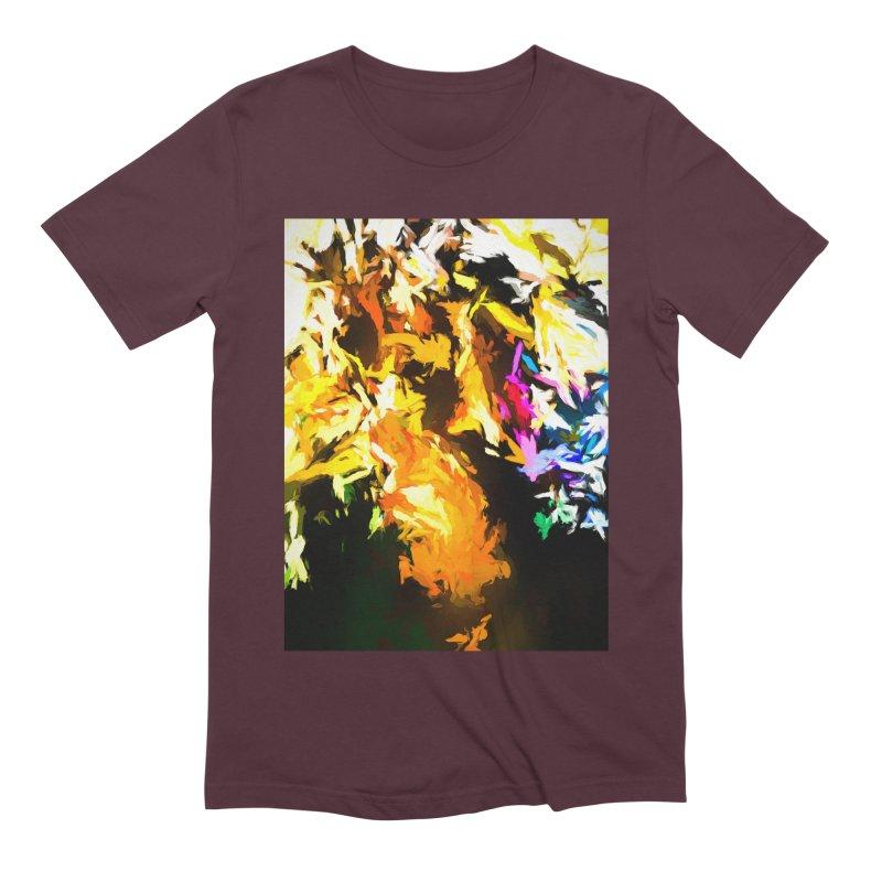Orange Man Bird Beak Men's Extra Soft T-Shirt by jackievano's Artist Shop