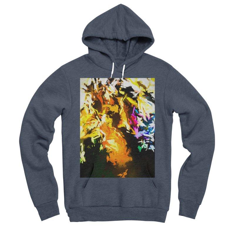 Orange Man Bird Beak Men's Sponge Fleece Pullover Hoody by jackievano's Artist Shop