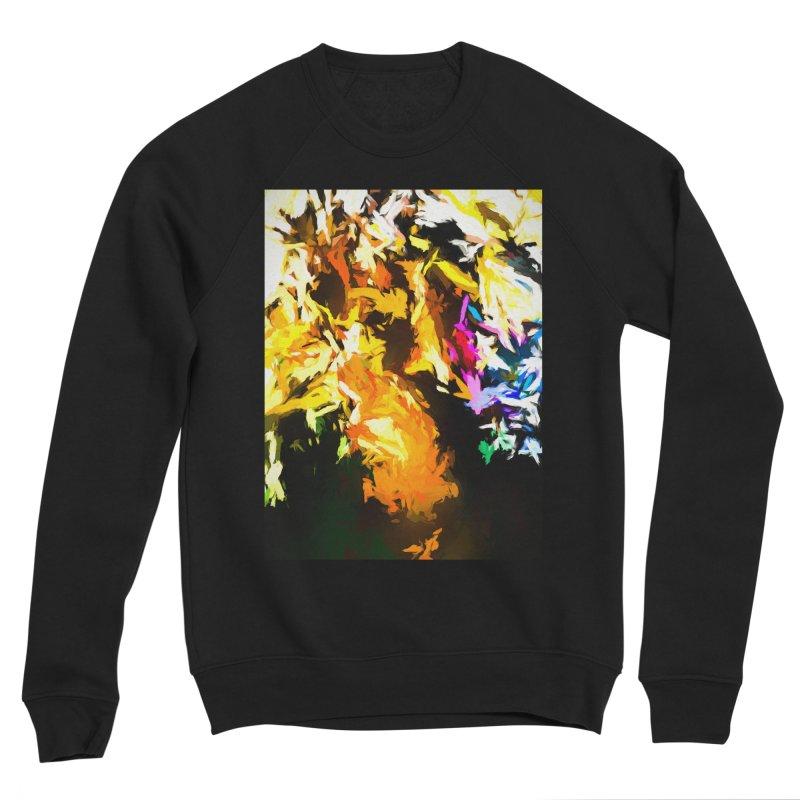 Orange Man Bird Beak Women's Sponge Fleece Sweatshirt by jackievano's Artist Shop