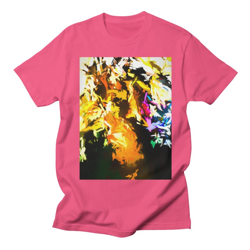 Orange Man Bird Beak Women's Regular Unisex T-Shirt by jackievano's Artist Shop