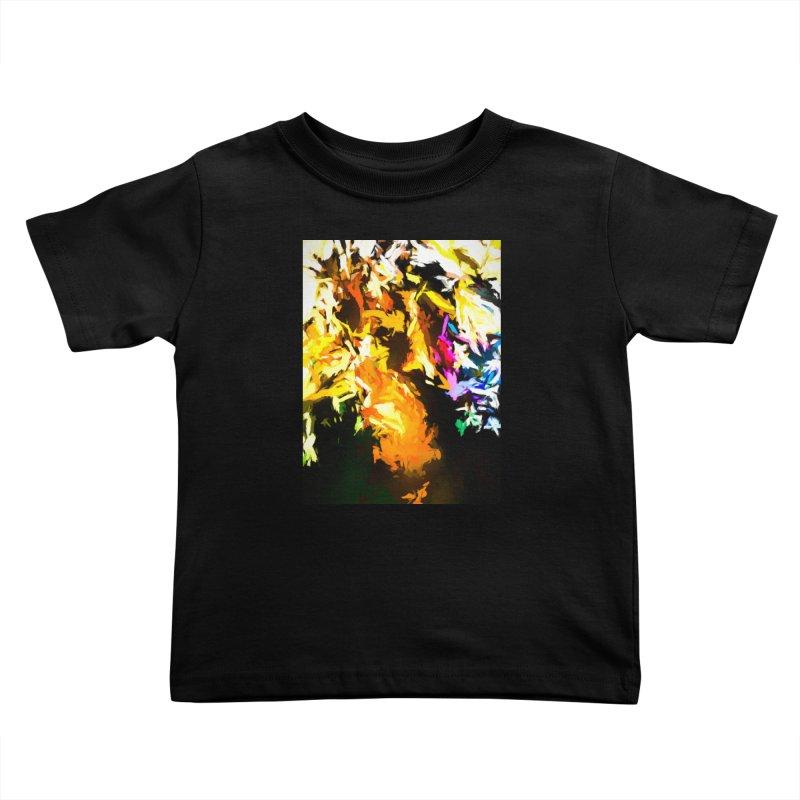 Orange Man Bird Beak Kids Toddler T-Shirt by jackievano's Artist Shop