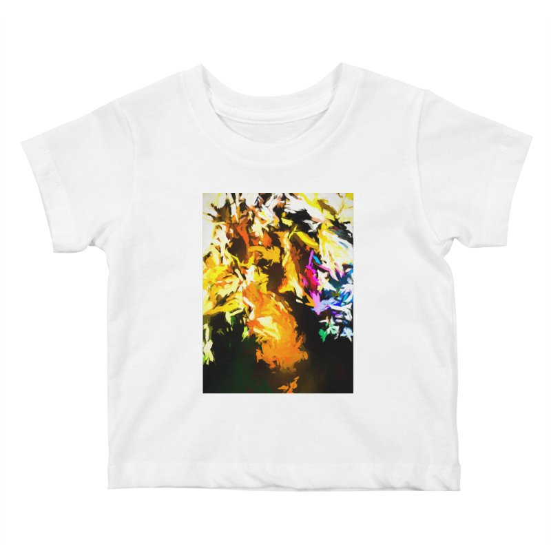 Orange Man Bird Beak Kids Baby T-Shirt by jackievano's Artist Shop