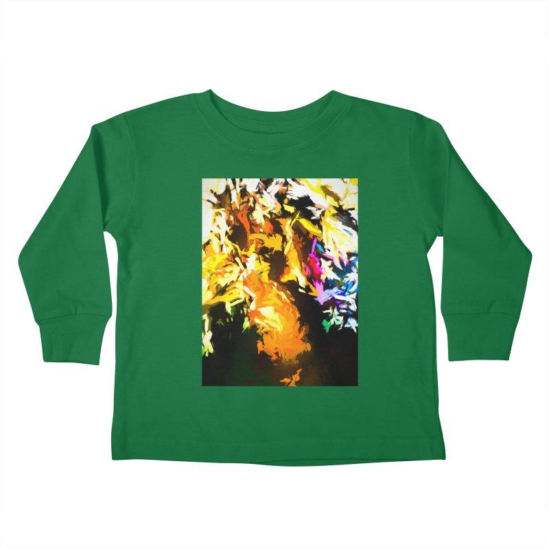 Orange Man Bird Beak Kids Toddler Longsleeve T-Shirt by jackievano's Artist Shop
